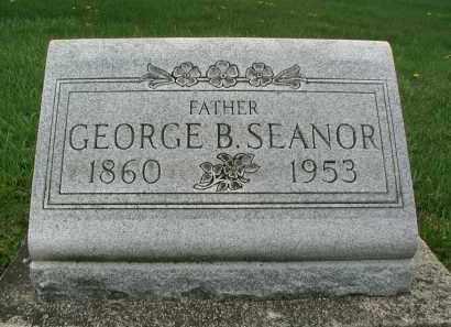 SEANOR, GEORGE B. - DuPage County, Illinois   GEORGE B. SEANOR - Illinois Gravestone Photos