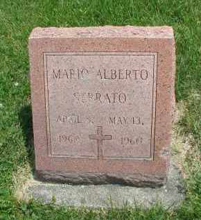 SERRATO, MARIO ALBERTA - DuPage County, Illinois   MARIO ALBERTA SERRATO - Illinois Gravestone Photos