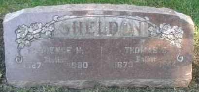 SHELDON, FLORENCE H. - DuPage County, Illinois | FLORENCE H. SHELDON - Illinois Gravestone Photos