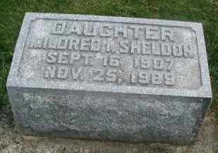 SHELDON, MILDRED I. - DuPage County, Illinois   MILDRED I. SHELDON - Illinois Gravestone Photos