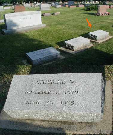 SHOGER, CATHERINE W. - DuPage County, Illinois   CATHERINE W. SHOGER - Illinois Gravestone Photos