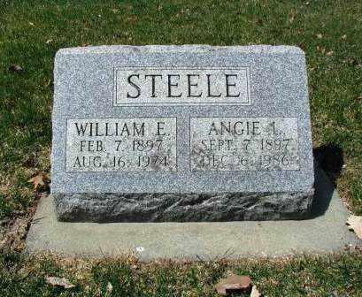 STEELE, WILLIAM E. - DuPage County, Illinois   WILLIAM E. STEELE - Illinois Gravestone Photos