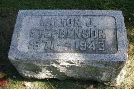 STEPHENSON, MILTON J. - DuPage County, Illinois   MILTON J. STEPHENSON - Illinois Gravestone Photos