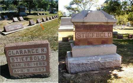 STIEFBOLD, CLARANCE R. - DuPage County, Illinois | CLARANCE R. STIEFBOLD - Illinois Gravestone Photos