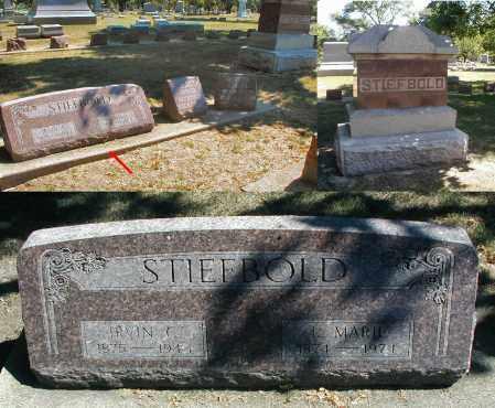 STIEFBOLD, IRVIN C. - DuPage County, Illinois   IRVIN C. STIEFBOLD - Illinois Gravestone Photos