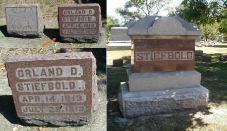STIEFBOLD, ORLANDO D. - DuPage County, Illinois | ORLANDO D. STIEFBOLD - Illinois Gravestone Photos