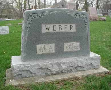 WEBER, HENRY L. - DuPage County, Illinois | HENRY L. WEBER - Illinois Gravestone Photos