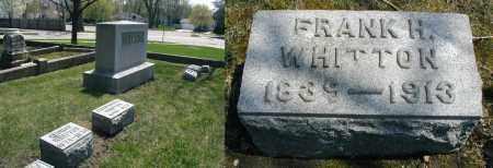 WHITTON, FRANK H. - DuPage County, Illinois   FRANK H. WHITTON - Illinois Gravestone Photos