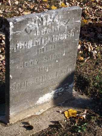 SIMS PARRISH, CYNTHIA JANE - Edgar County, Illinois | CYNTHIA JANE SIMS PARRISH - Illinois Gravestone Photos