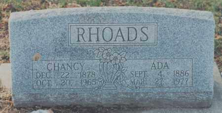 RHOADS, ADA - Edgar County, Illinois | ADA RHOADS - Illinois Gravestone Photos