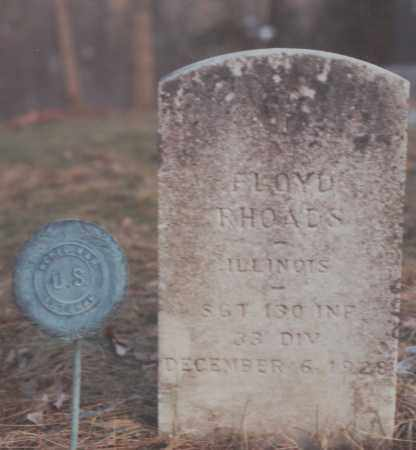 RHOADS, FLOYD - Edgar County, Illinois | FLOYD RHOADS - Illinois Gravestone Photos