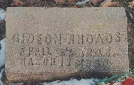 RHOADS, GIDEON - Edgar County, Illinois | GIDEON RHOADS - Illinois Gravestone Photos