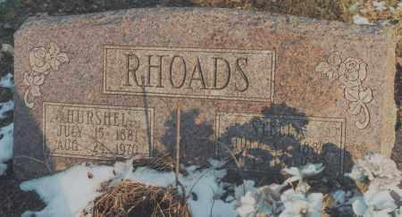 RHOADS, HURSHAL - Edgar County, Illinois | HURSHAL RHOADS - Illinois Gravestone Photos