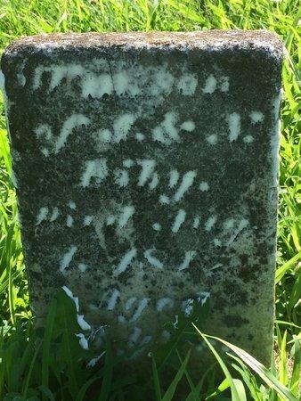 ASHY, UNKNOWN - Franklin County, Illinois | UNKNOWN ASHY - Illinois Gravestone Photos