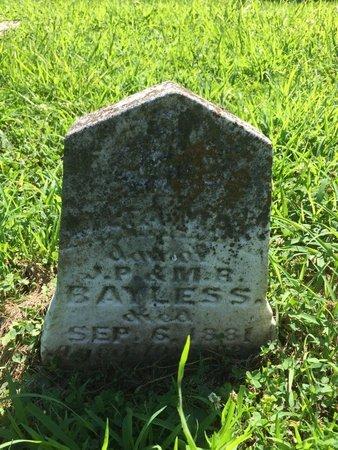 BAYLESS, MAY - Franklin County, Illinois   MAY BAYLESS - Illinois Gravestone Photos
