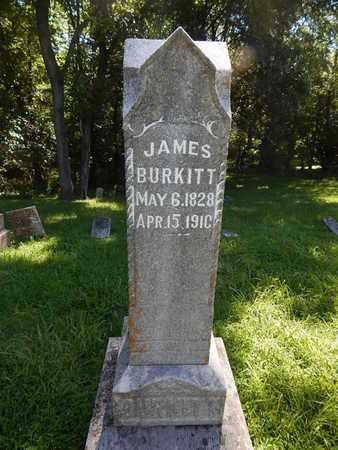BURKITT, JAMES - Franklin County, Illinois | JAMES BURKITT - Illinois Gravestone Photos