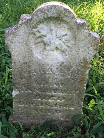 BURKITT, SARAH - Franklin County, Illinois | SARAH BURKITT - Illinois Gravestone Photos