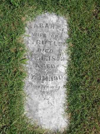 BUTLER, SARAH J - Franklin County, Illinois | SARAH J BUTLER - Illinois Gravestone Photos
