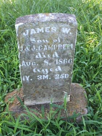 CAMPBELL, JAMES W - Franklin County, Illinois   JAMES W CAMPBELL - Illinois Gravestone Photos