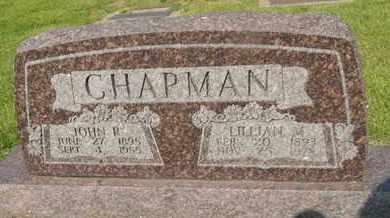 CHAPMAN, JOHN R - Franklin County, Illinois | JOHN R CHAPMAN - Illinois Gravestone Photos