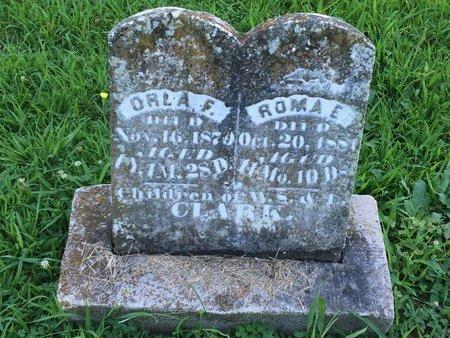 CLARK, ORLA F - Franklin County, Illinois | ORLA F CLARK - Illinois Gravestone Photos