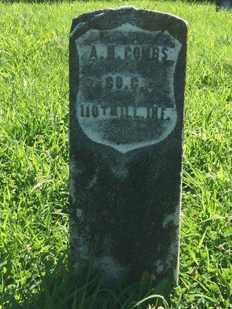 COMBS (VETERAN USA), ANDERSON H - Franklin County, Illinois | ANDERSON H COMBS (VETERAN USA) - Illinois Gravestone Photos