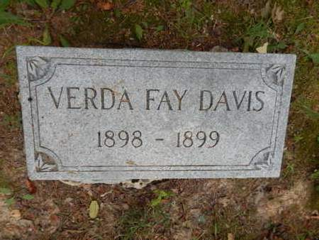 DAVIS, VERDA FAY - Franklin County, Illinois   VERDA FAY DAVIS - Illinois Gravestone Photos