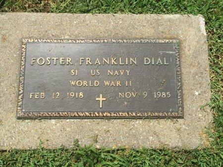 DIAL (VETERAN WWII), FOSTER FRANKLIN - Franklin County, Illinois | FOSTER FRANKLIN DIAL (VETERAN WWII) - Illinois Gravestone Photos