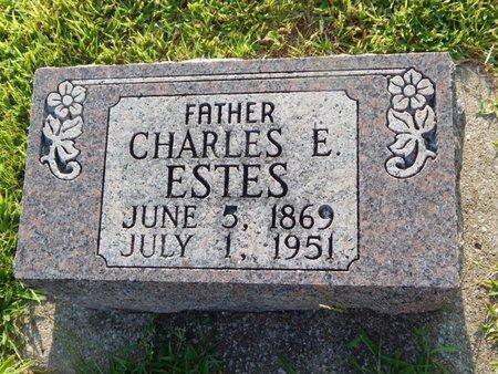 ESTES, CHARLES E - Franklin County, Illinois | CHARLES E ESTES - Illinois Gravestone Photos