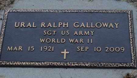 GALLOWAY, URAL RALPH - Franklin County, Illinois | URAL RALPH GALLOWAY - Illinois Gravestone Photos