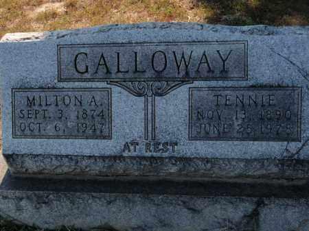GALLOWAY, MILTON A - Franklin County, Illinois   MILTON A GALLOWAY - Illinois Gravestone Photos