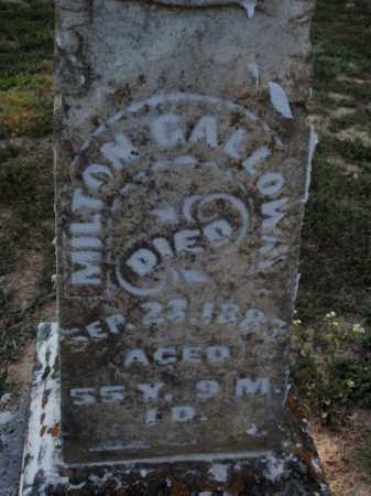 GALLOWAY, MILTON - Franklin County, Illinois | MILTON GALLOWAY - Illinois Gravestone Photos