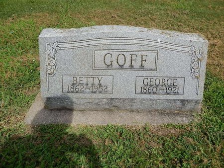 GOFF, GEORGE - Franklin County, Illinois | GEORGE GOFF - Illinois Gravestone Photos