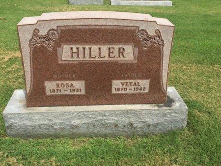 HILLER, ROSA MAY - Franklin County, Illinois | ROSA MAY HILLER - Illinois Gravestone Photos