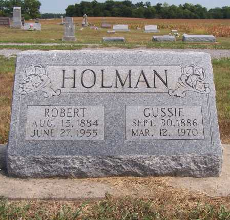 HOLMAN, ROBERT L. - Franklin County, Illinois | ROBERT L. HOLMAN - Illinois Gravestone Photos