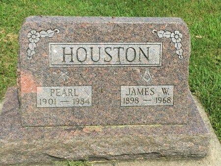 HOUSTON, PEARL - Franklin County, Illinois   PEARL HOUSTON - Illinois Gravestone Photos