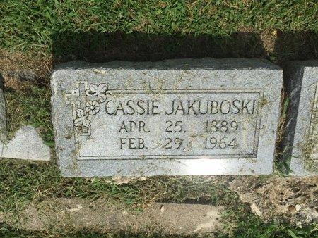 JAKUBOSKI, CASSIE - Franklin County, Illinois   CASSIE JAKUBOSKI - Illinois Gravestone Photos