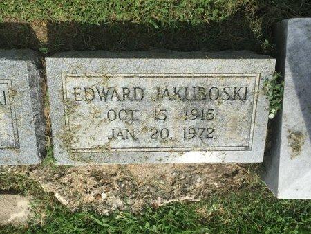 JAKUBOSKI, EDWARD - Franklin County, Illinois | EDWARD JAKUBOSKI - Illinois Gravestone Photos