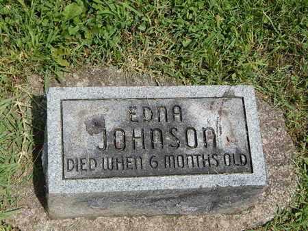 JOHNSON, EDNA - Franklin County, Illinois   EDNA JOHNSON - Illinois Gravestone Photos