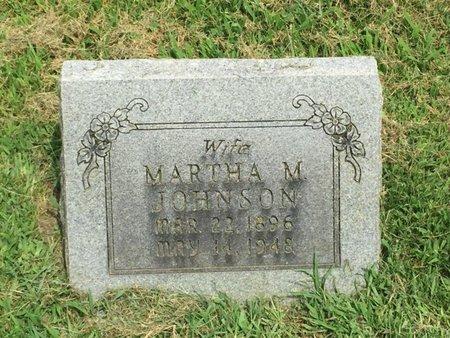 JOHNSON, MARTHA M - Franklin County, Illinois | MARTHA M JOHNSON - Illinois Gravestone Photos
