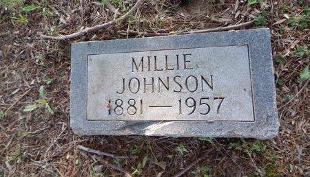 JOHNSON, MILLIE - Franklin County, Illinois | MILLIE JOHNSON - Illinois Gravestone Photos