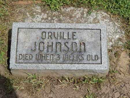 JOHNSON, ORVILLE - Franklin County, Illinois | ORVILLE JOHNSON - Illinois Gravestone Photos