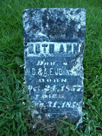 JOHNSON, RUTH ANN - Franklin County, Illinois | RUTH ANN JOHNSON - Illinois Gravestone Photos