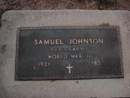 JOHNSON, SAMUEL - Franklin County, Illinois   SAMUEL JOHNSON - Illinois Gravestone Photos
