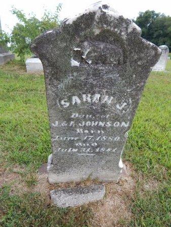 JOHNSON, SARAH J - Franklin County, Illinois | SARAH J JOHNSON - Illinois Gravestone Photos