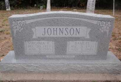JOHNSON, VIRGINIA E - Franklin County, Illinois | VIRGINIA E JOHNSON - Illinois Gravestone Photos