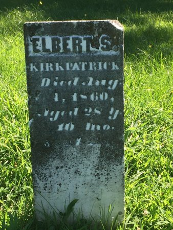 KIRKPATRICK, ELBERT S - Franklin County, Illinois   ELBERT S KIRKPATRICK - Illinois Gravestone Photos