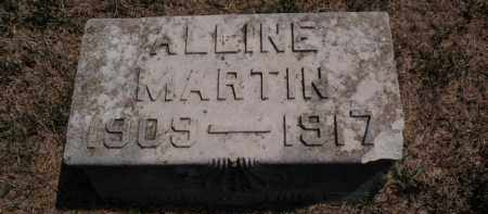 MARTIN, ALLINE - Franklin County, Illinois   ALLINE MARTIN - Illinois Gravestone Photos