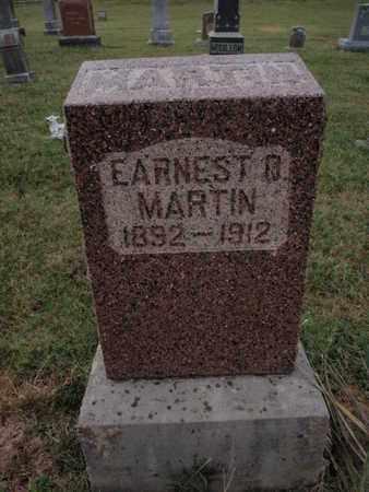 MARTIN, EARNEST O - Franklin County, Illinois | EARNEST O MARTIN - Illinois Gravestone Photos