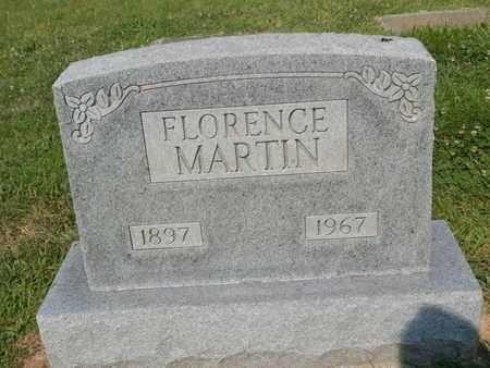 MARTIN, FLORENCE - Franklin County, Illinois   FLORENCE MARTIN - Illinois Gravestone Photos